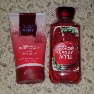 Winter Candy Apple Bath and Body Works